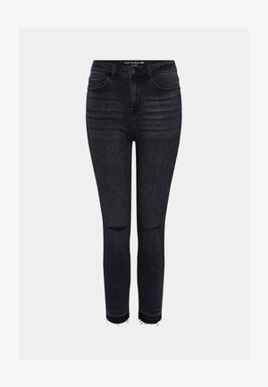 Slim fit jeans - nachtschwarz