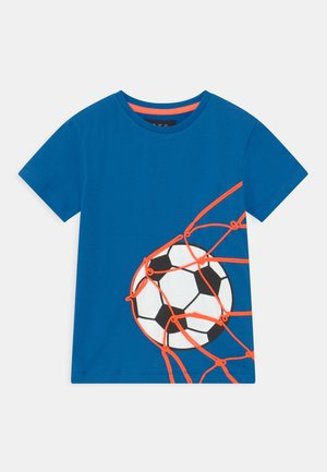 Print T-shirt - royal blue