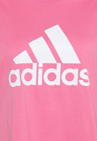 adidas Performance - Print T-shirt - rose tone/white - 2