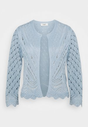 JDYSUN CROPPED CARDIGAN - Strikjakke /Cardigans - cashmere blue