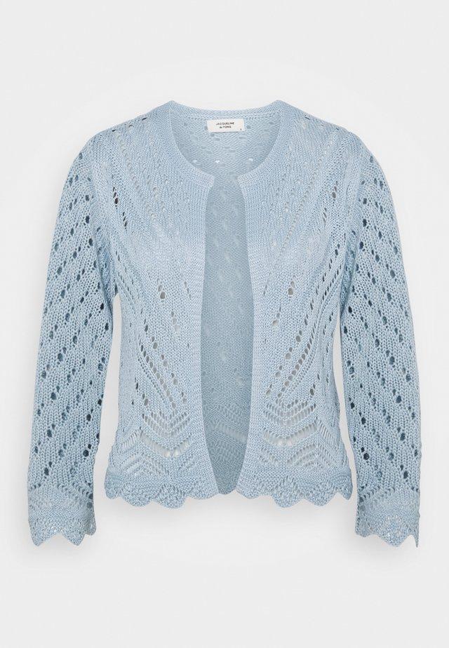 JDYSUN CROPPED CARDIGAN - Kardigan - cashmere blue