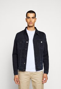 7 for all mankind - PERFECT JACKET - Denim jacket - dark blue - 0