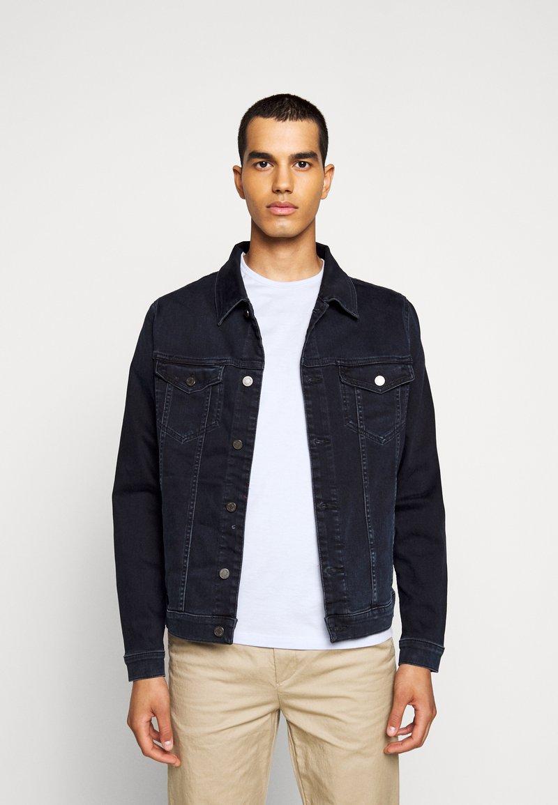 7 for all mankind - PERFECT JACKET - Denim jacket - dark blue