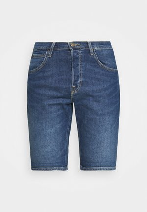FIVE POCKET - Denim shorts - hawaii dark