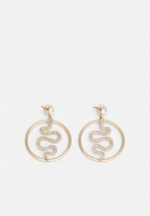 MANOURIA - Earrings - clear/gold-coloured