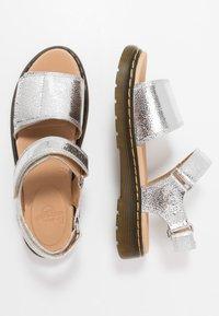 Dr. Martens - ROMI  - Sandals - silver metallic - 1