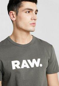 G-Star - HOLORN - Print T-shirt - gs grey - 4
