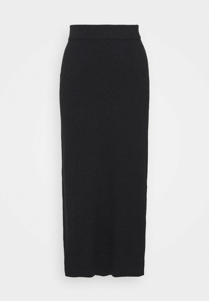 Esprit - SKIRT - Pencil skirt - anthracite