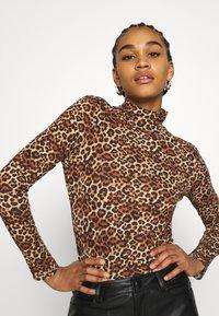 Monki - VANJA - Long sleeved top - brown - 3