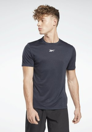 MELANGE WORKOUT READY - T-shirt - bas - blue