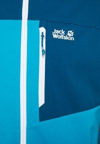 Jack Wolfskin - EAGLE PEAK - Softshellová bunda - blue jewel - 6