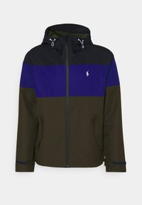Polo Ralph Lauren - COLOR-BLOCKED HOODED JACKET - Summer jacket - army multi - 0
