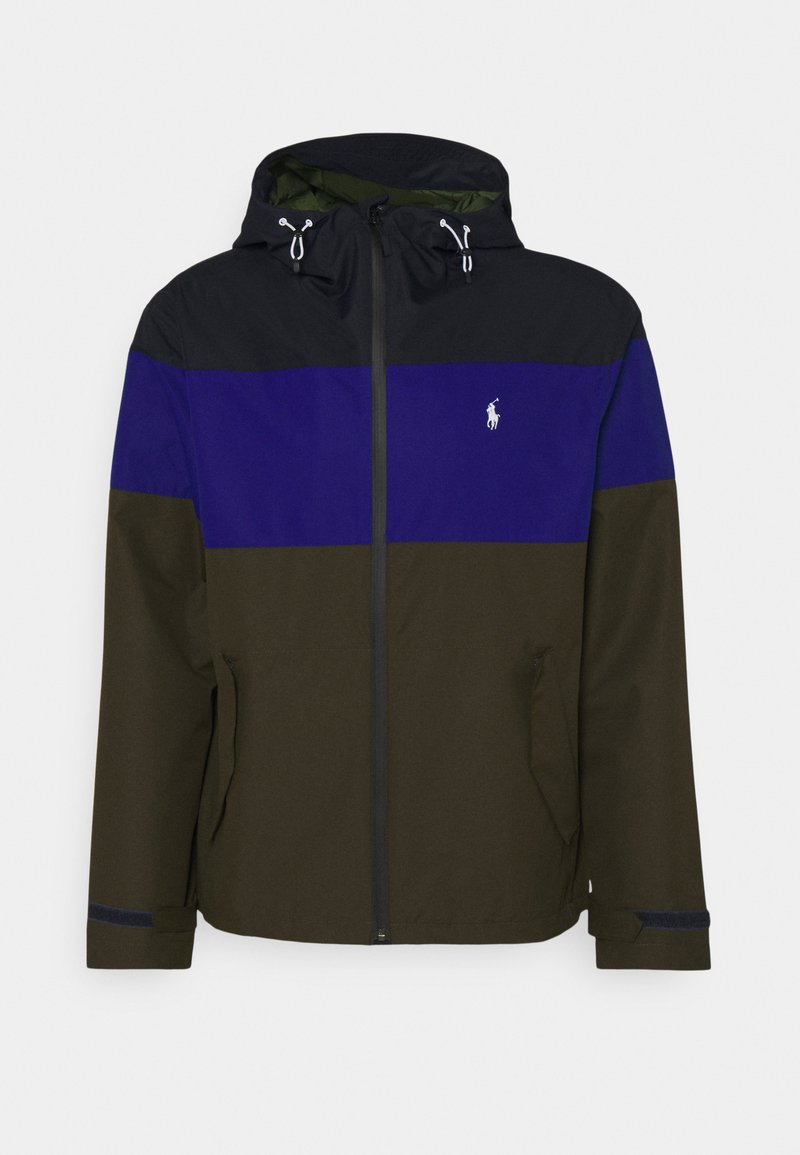 Polo Ralph Lauren - COLOR-BLOCKED HOODED JACKET - Summer jacket - army multi