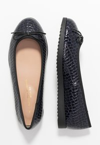 Dorothy Perkins Wide Fit - WIDE FIT PANTHER - Ballerina's - navy - 3