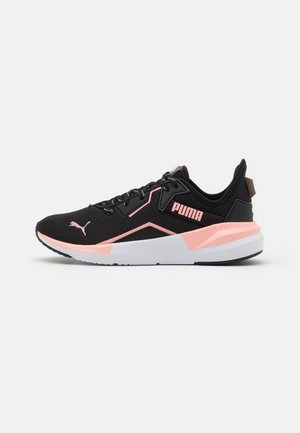 PLATINUM METALLIC - Sports shoes - elektro peach/black/white