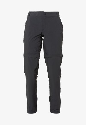 W EXPLORATION CONVERTIBLE PANT - EU - Trousers - asphalt grey