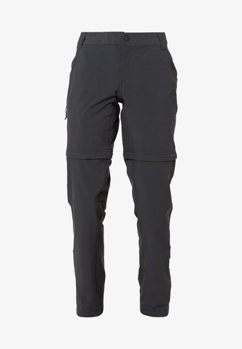 EXPLORATION CONVERTIBLE PANT - Outdoor trousers - asphalt grey