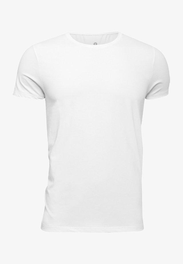 JBS OF DENMARK - HERREN - T-SHIRT AUS BAUMWOLLMIX - T-shirts basic - weiss