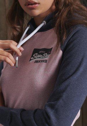 VINTAGE LOGO - Sweatshirt - montauk pink