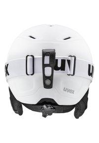 Uvex - Helmet - white  black mat - 1