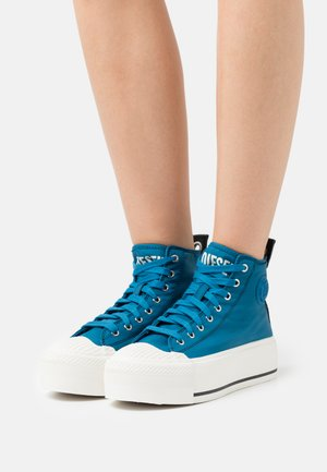 S-ASTICO MC WEDGE - High-top trainers - blue