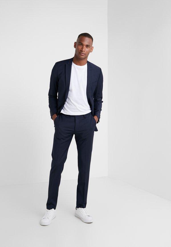 DRYKORN PIET - Spodnie garniturowe - blue/niebieski Odzież Męska TBHN