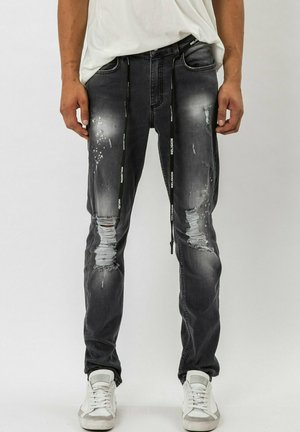 VICIOUS - Slim fit -farkut - schwarz
