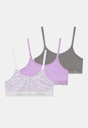 ANIMAL 3 PACK - Bustier - white