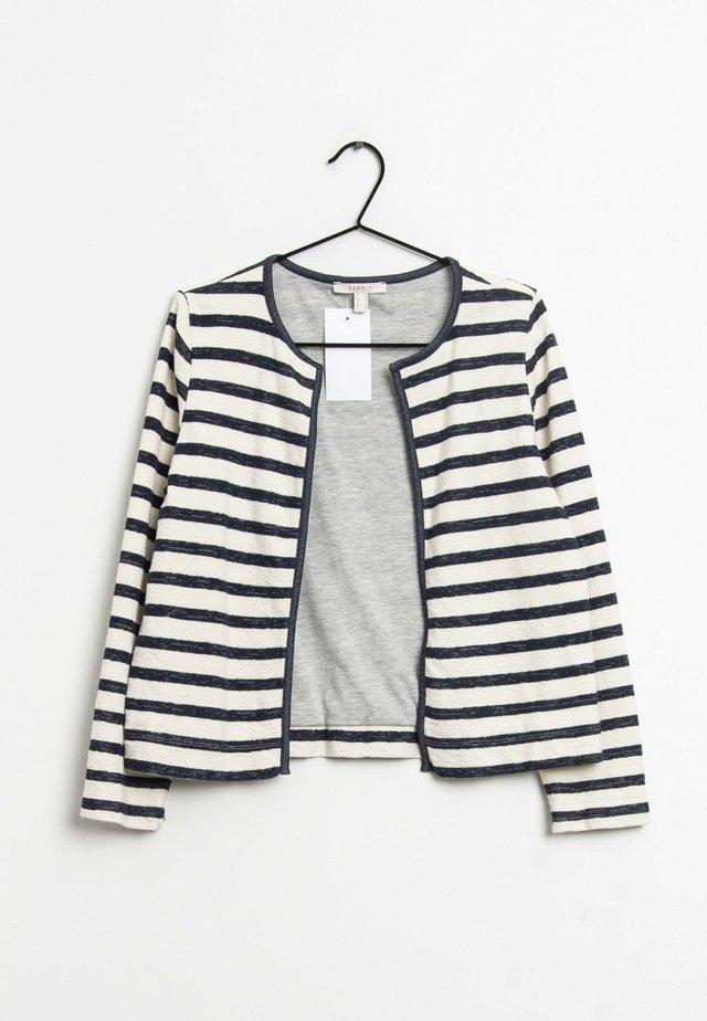 Vest - white/blue