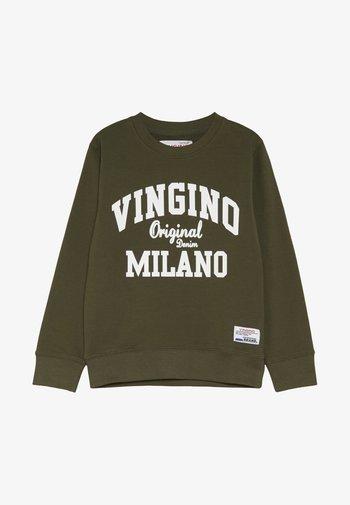 NAMRY - Sweatshirt - olive night