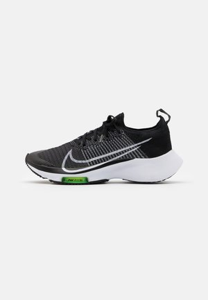 AIR ZOOM PEGASUS TURBO UNISEX - Neutral running shoes - black/white/volt