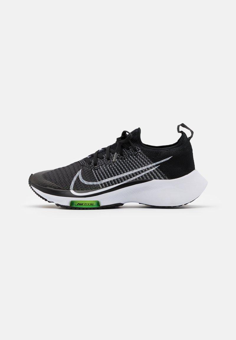 Nike Performance - AIR ZOOM PEGASUS TURBO UNISEX - Juoksukenkä/neutraalit - black/white/volt