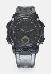 G-SHOCK - BLACK SKELETON  GA-2000SKE UNISEX - Digitální hodinky - transparent/black - 0