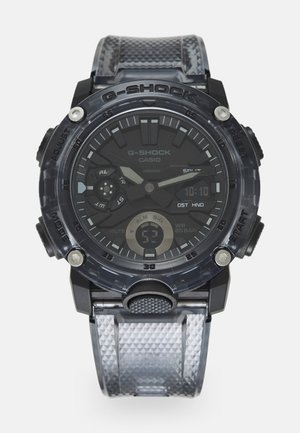 BLACK SKELETON  GA-2000SKE UNISEX - Digital watch - transparent/black