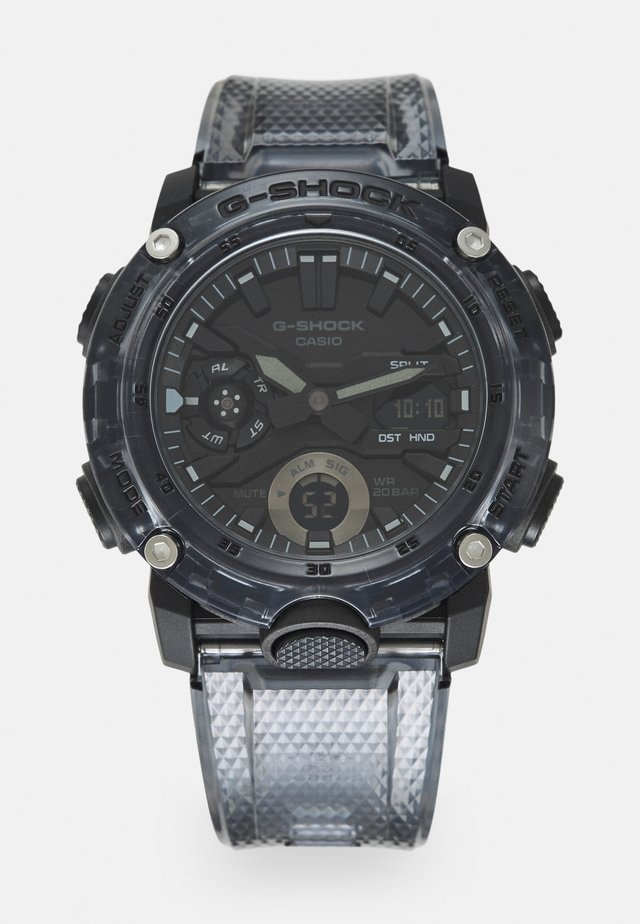 BLACK SKELETON  GA-2000SKE UNISEX - Montre à affichage digital - transparent/black
