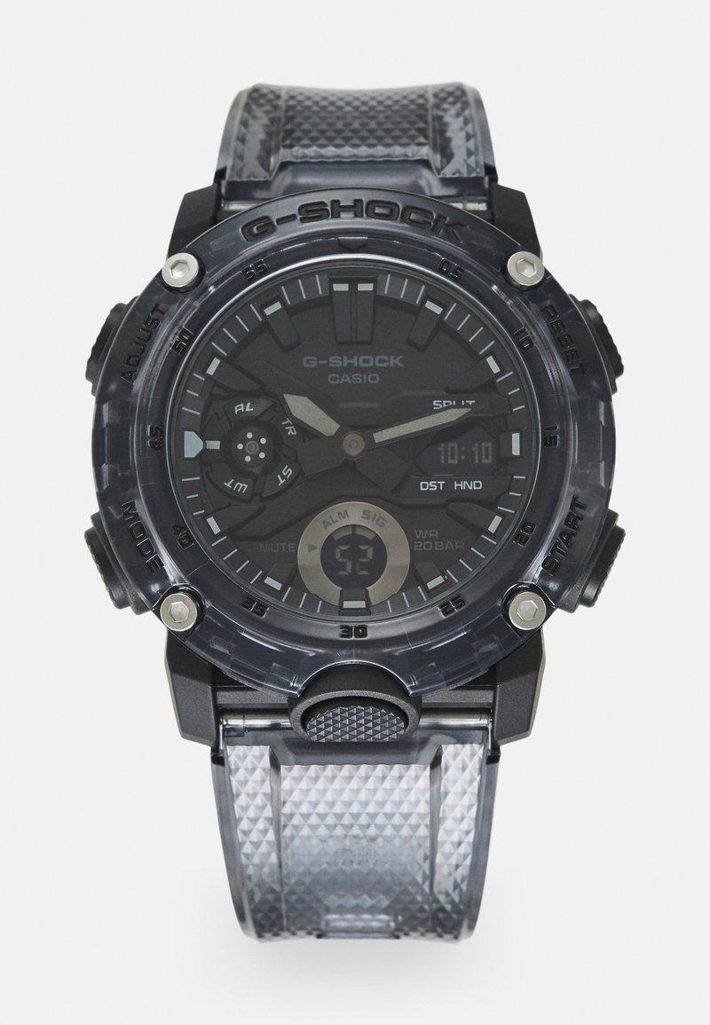 G-SHOCK - BLACK SKELETON  GA-2000SKE UNISEX - Digitální hodinky - transparent/black