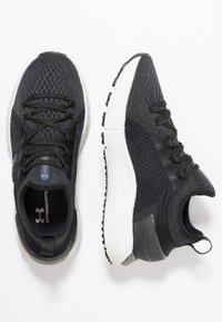 Under Armour - HOVR PHANTOM SE - Neutral running shoes - jet gray/black - 1