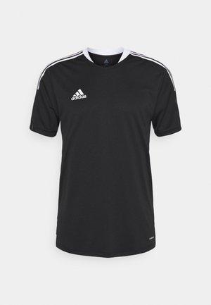 TIRO 21 - T-shirt imprimé - black