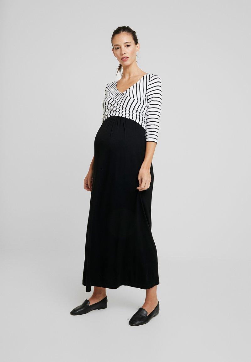 9Fashion - MILENNA - Maxi dress - black/white