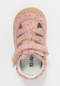 Kickers - SUSHY - Dětské boty - rose - 1