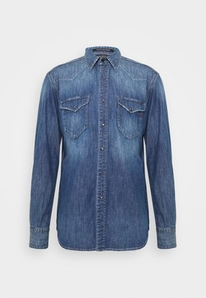 Shirt - blue denim