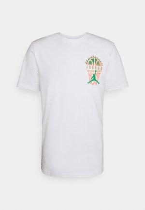 DNA CREW - T-shirts med print - white