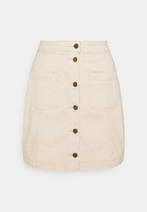 VIBARBARA GANDHIA SHORT - Mini skirt - natural melange