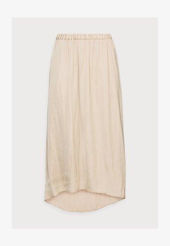 TANDRA - Pleated skirt - white pepper