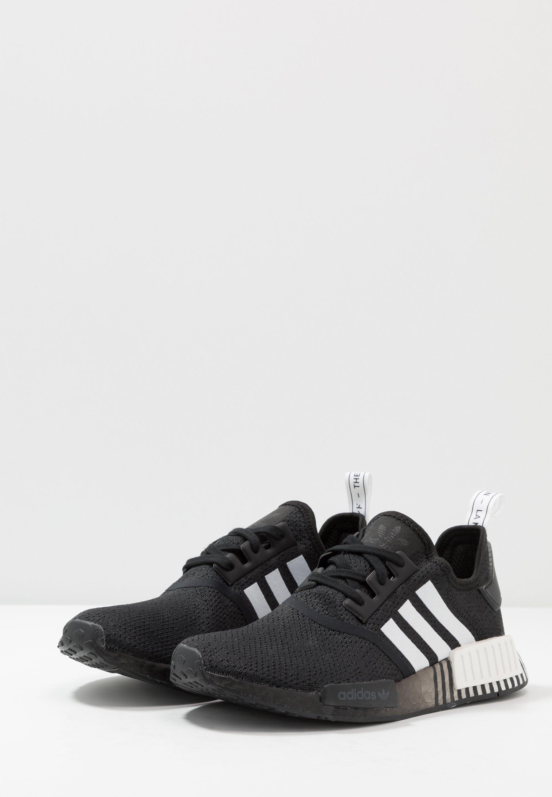 NMD R1 Sneaker low core blackfootwear white