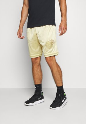 NBA DALLAS MAVERICKS MIDAS SWINGMAN SHORT - Sports shorts - metallic gold