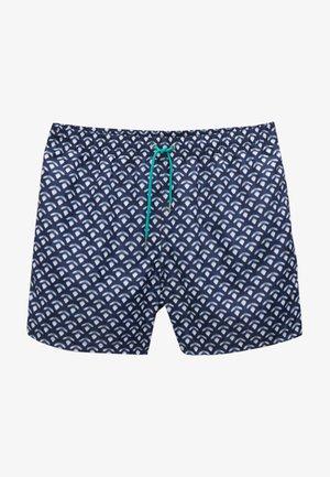 Swimming shorts - blue black denim