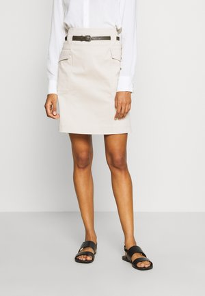 KURZ - Mini skirt - sand