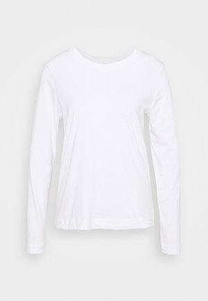 SLFSTANDARD TEE - Long sleeved top - bright white