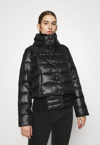 Sisley - JACKET - Winterjacke - black - 0